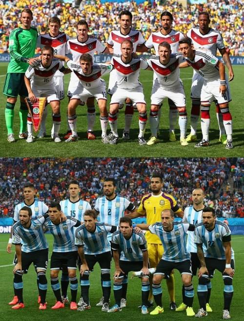 決勝はドイツ対アルゼンチン…86、90年大会決勝に続く3度目の対決