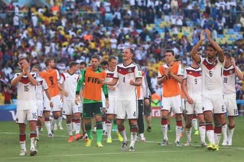 ドイツ代表、ワールドカップ史上初となる4大会連続のベスト4進出