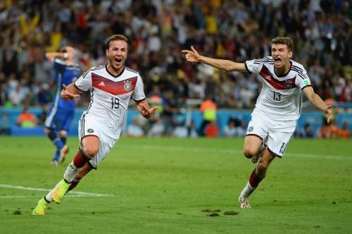 ドイツが24年ぶり4度目のW杯制覇…ゲッツェが延長に値千金決勝弾