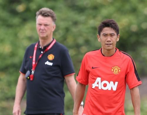 新監督、新戦術…マンUの香川「練習からいろんなことを感じている」