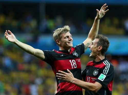 2得点でMOM選出のドイツ代表MFクロース「僕たちは傑出していた」