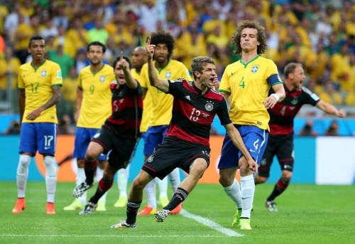 ドイツ決勝進出、予想外の大勝に先制弾のミュラー「信じられない」