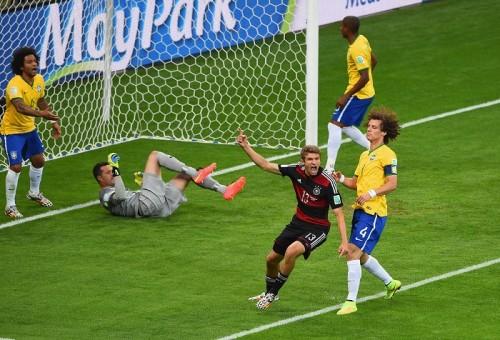 ブラジル戦大勝でドイツも記録ずくめ…代表通算2000点目はミュラー