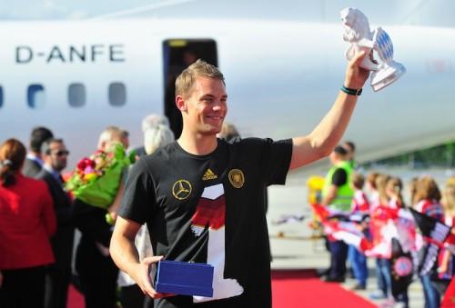 ファンが選ぶドイツ代表MVPはノイアー…英語版ブンデス公式HPで投票