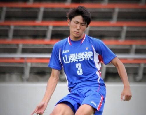 【インハイ注目選手】山梨学院DF渡辺剛…目指すは「日本一のヘディンガー」