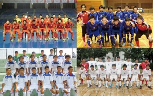 [A組メンバー紹介]第1回全日本ユース(U-18)フットサル大会