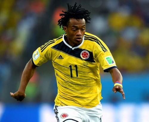 コロンビア代表MFクアドラード、フィオレンティーナと契約更新か