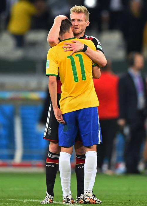 独代表シュールレがブラジル戦振り返る「彼らは悲しみ泣いていた」