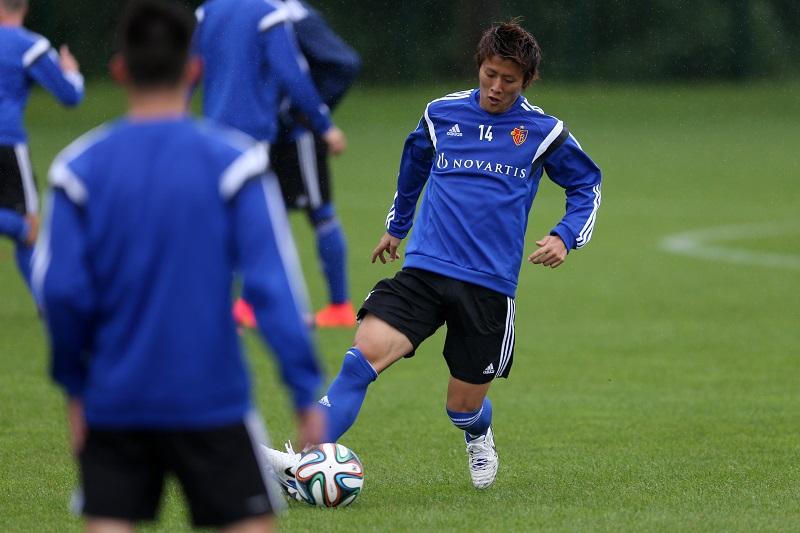 FC Basel Presents New Player Yoichiro Kakitani