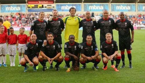 マンUの92年組、買収した8部リーグのサルフォードに親善試合で完敗
