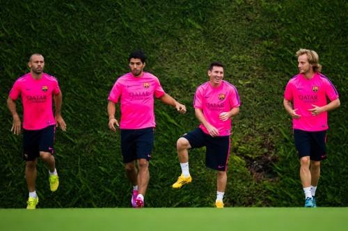バルセロナのエンリケ監督、親善試合でのFWスアレスの起用を明言