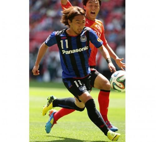 7月の月間ベストゴールはG大阪MF倉田秋の得点が選出
