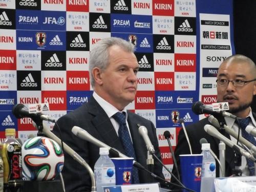 アギーレ新監督が日本代表メンバー発表「過去の代表は基準ではない」