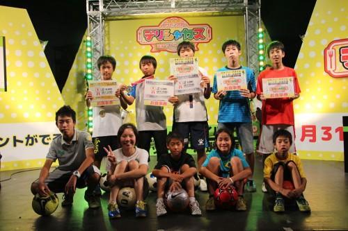 」日本フリースタイルフットボール選手権in夏サカス2014」写真ギャラリー