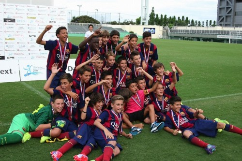バルセロナが貫録のU-12ワールドチャレンジ連覇…東京都U-12に完勝
