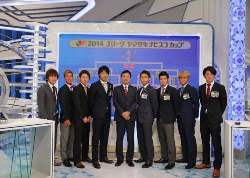 ナビスコ杯準々決勝で王者の柏と横浜FMが激突…浦和は広島と対戦
