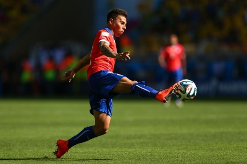 QPR移籍のチリ代表E・バルガス「プレミア挑戦が楽しみだ」
