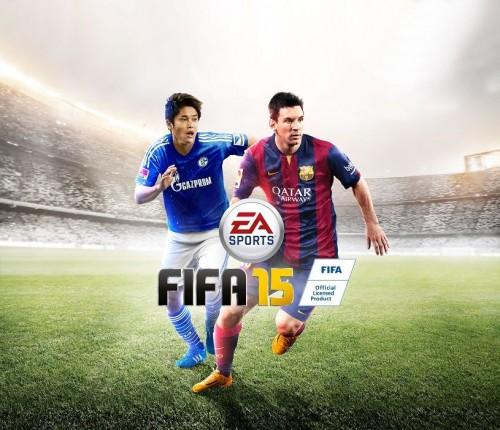 内田が『FIFA 15』日本版パッケージに「メッシと並び、同僚にいじられた」