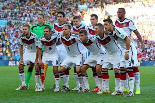 W杯決勝の相手アルゼンチンと激突…王者ドイツが代表メンバー発表