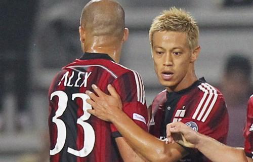 本田がユヴェントス戦でゴール、 プレシーズンマッチ3戦連発