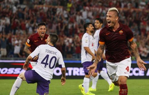 ローマがホームでヴィオラ撃破…2014-15シーズンを白星スター