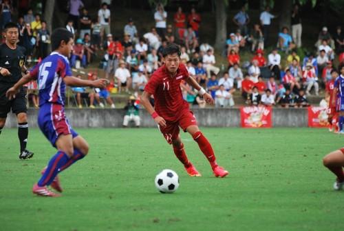 夏の王座奪還に燃える東福岡が3試合15得点、山梨学院下し準々決勝進出