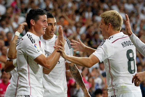 J・ロドリゲスが移籍後初ゴールに歓喜「この日を夢見ていた」