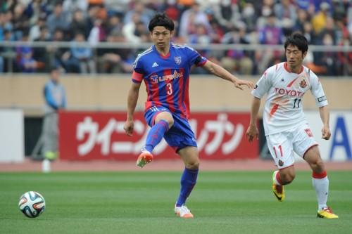 代表選出のFC東京DF森重が意気込み「ロシアW杯へのスタートライン」