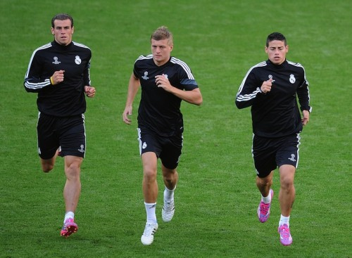 UEFAスーパー杯にクロースとJ・ロドリゲス出場、レアル指揮官が明言