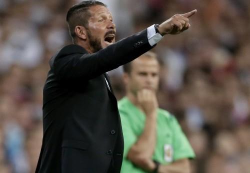 アトレティコのシメオネ監督に8試合のベンチ入り禁止処分