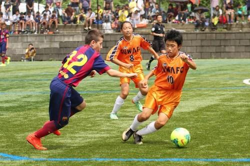 女子選手も奮闘、王者バルサの指揮官に「脱帽した」と言わせた諏訪FC
