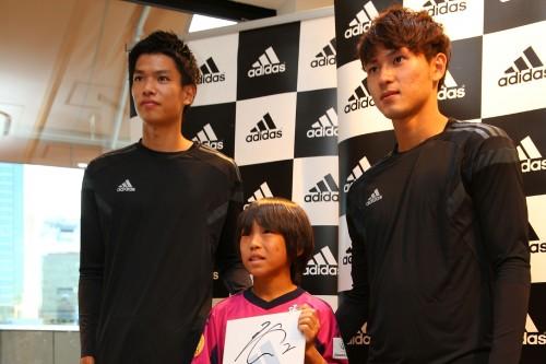 C大阪の扇原と南野がアディダスのスペシャルイベントでファンと交流…大阪ダービーでの必勝を誓う