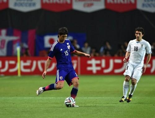 代表初先発の坂井達弥、ミスを反省「シンプルにやればよかった」