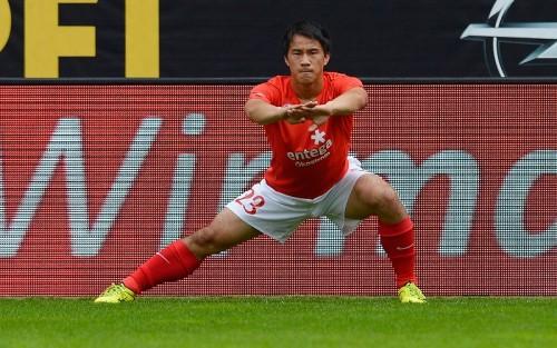 親善試合控える日本代表FW岡崎、アギーレ新体制に「ただただ楽しみ」