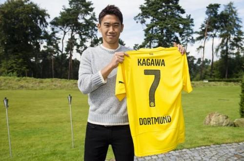 ドルトムント復帰の香川真司、新背番号は「7」に決定