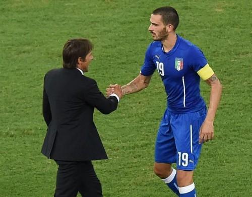 初陣快勝のイタリア、ボヌッチがコンテを称賛「監督は勝者だ」