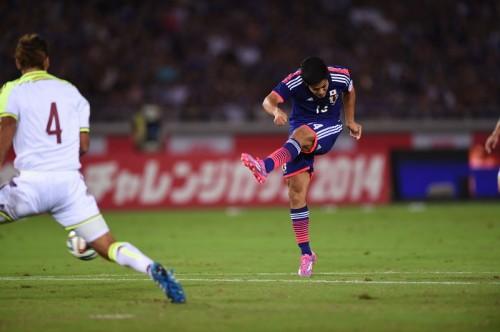 アギーレ新体制の初得点決めた武藤、ゴールの瞬間は「時が止まった」
