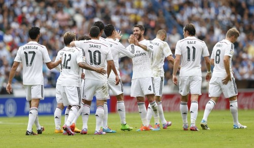 レアルがクラブ初、リーガ史上6番目となるアウェーでの8ゴール