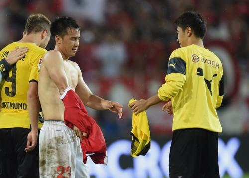 シンジ対決で先制弾のマインツ岡崎「香川はもっと怖い選手」