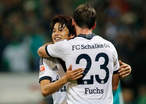 226日ぶり出場の内田篤人、復帰戦でベスト11…最多タッチ数も