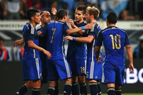 ブラジルW杯決勝カード再び…アルゼンチンが王者ドイツに4得点大勝