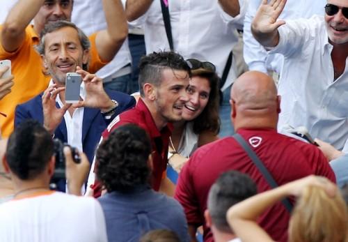 ローマのフロレンツィ、ゴール後に祖母と抱擁「祖母のためのゴール」