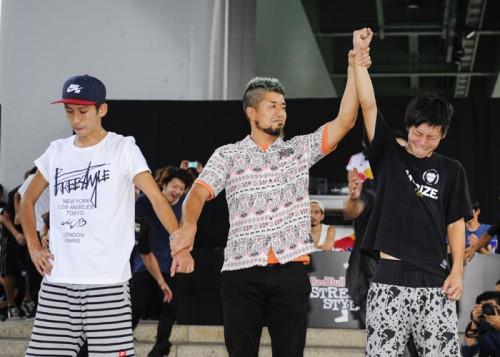 フリースタイル・フットボール日本予選で24歳の金子浩之が優勝