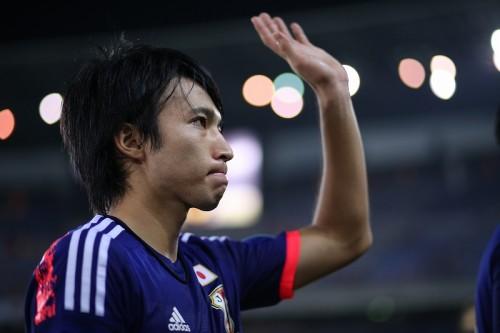 日本代表デビュー戦初ゴールに手応えの柴崎岳「自分を表現できた」