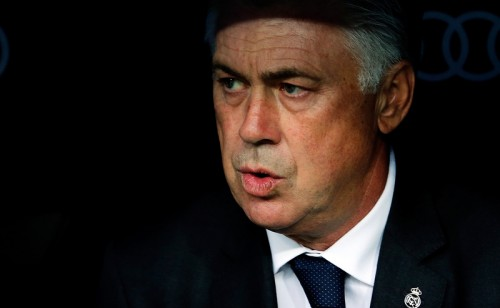 5発大勝を喜ぶアンチェロッティ監督「ファンは満足している」
