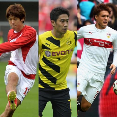 独メディア、ブンデス第3節出場日本人選手を採点…香川は最高評価