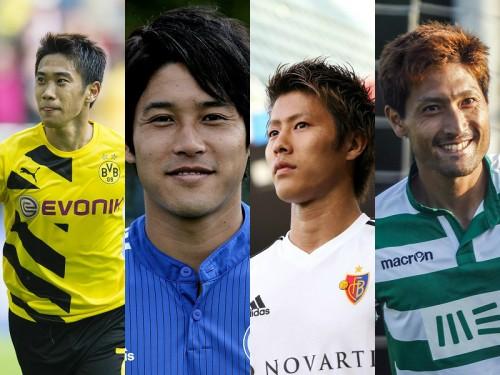 日本人4選手がCL参戦…初戦で香川ドルトはアーセナル、柿谷バーゼルはレアル