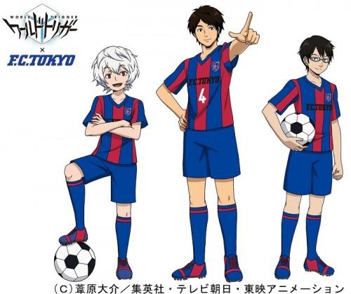 FC東京が人気マンガ「ワールドトリガー」とコラボ、高橋秀人が支部長就任