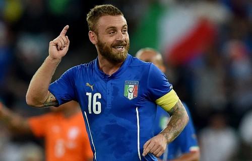 2得点に絡んだイタリア代表デ・ロッシ「素晴らしい姿勢で臨めた」