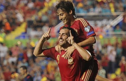 スペイン代表初ゴールのFWアルカセル「ゴールを奪う必要がある」